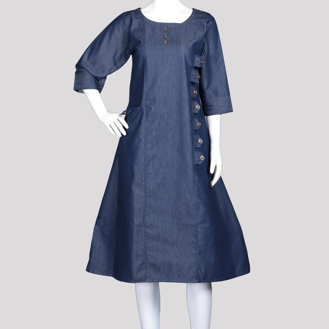 Denim Suit Kurthi