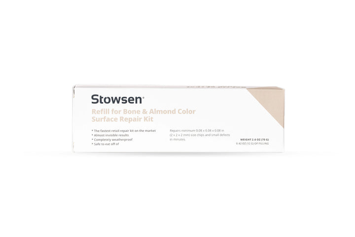 Stowsen Bone and Almond surface repair kit refill