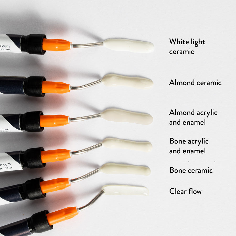 Bone & Almond Color Surface Repair Kit