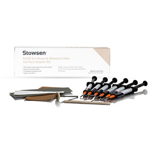 Stowsen Bone and Almond surface repair kit refill kit includes