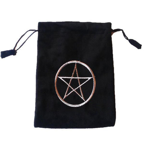 Black Pentacle Bag
