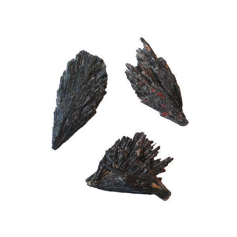 Black Kyanite Pieces
