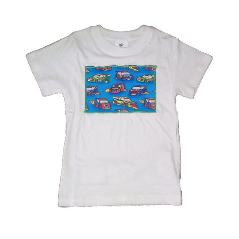 Hand-Crafted Boys' T-Shirt 'Cars'