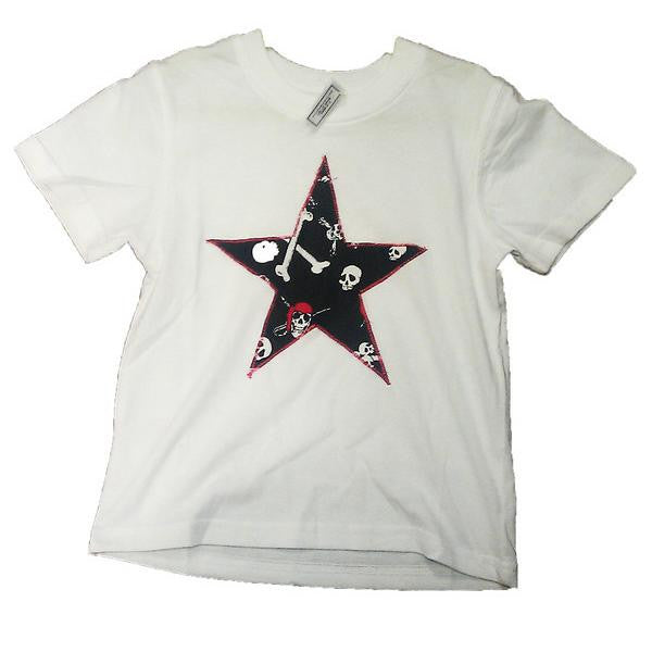Hand-Crafted Boys' Star T-Shirt 'Pirate'