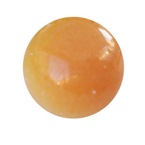 Orange Calcite Ball