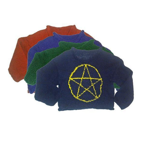 Hand-Knitted Children's Pentacle Jumper