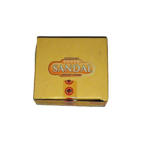 Nag Champa Super Sandal Incense Dhoop Cones