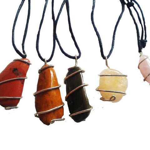 Handmade Crystal Necklaces