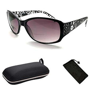 Ladies Bifocal Sunglasse + case - Candy-Rain-Drop-Shop