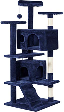 Cat Tree Tower Condo Pet House Play - Candy-Rain-Drop-Shop
