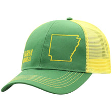 Load image into Gallery viewer, John Deere Farm State Pride Cap-Green and Yellow-Arkansas - Candy-Rain-Drop-Shop