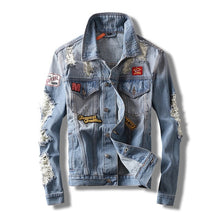Load image into Gallery viewer, Slim fit Jeans Coat - Candy-Rain-Drop-Shop