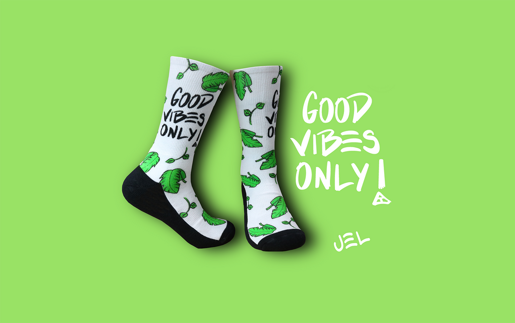 White Good Vibes By JEL