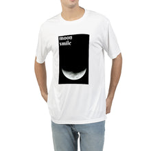 Load image into Gallery viewer, Moon smile | white | Men's Tee