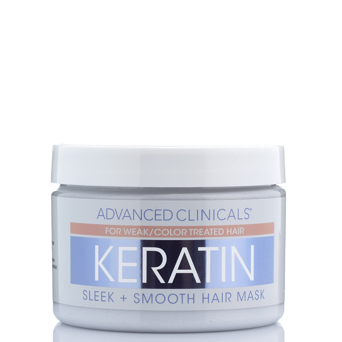 Keratin Hair Repair Mask with Shea Butter & Silk Amino Acids 12 oz.