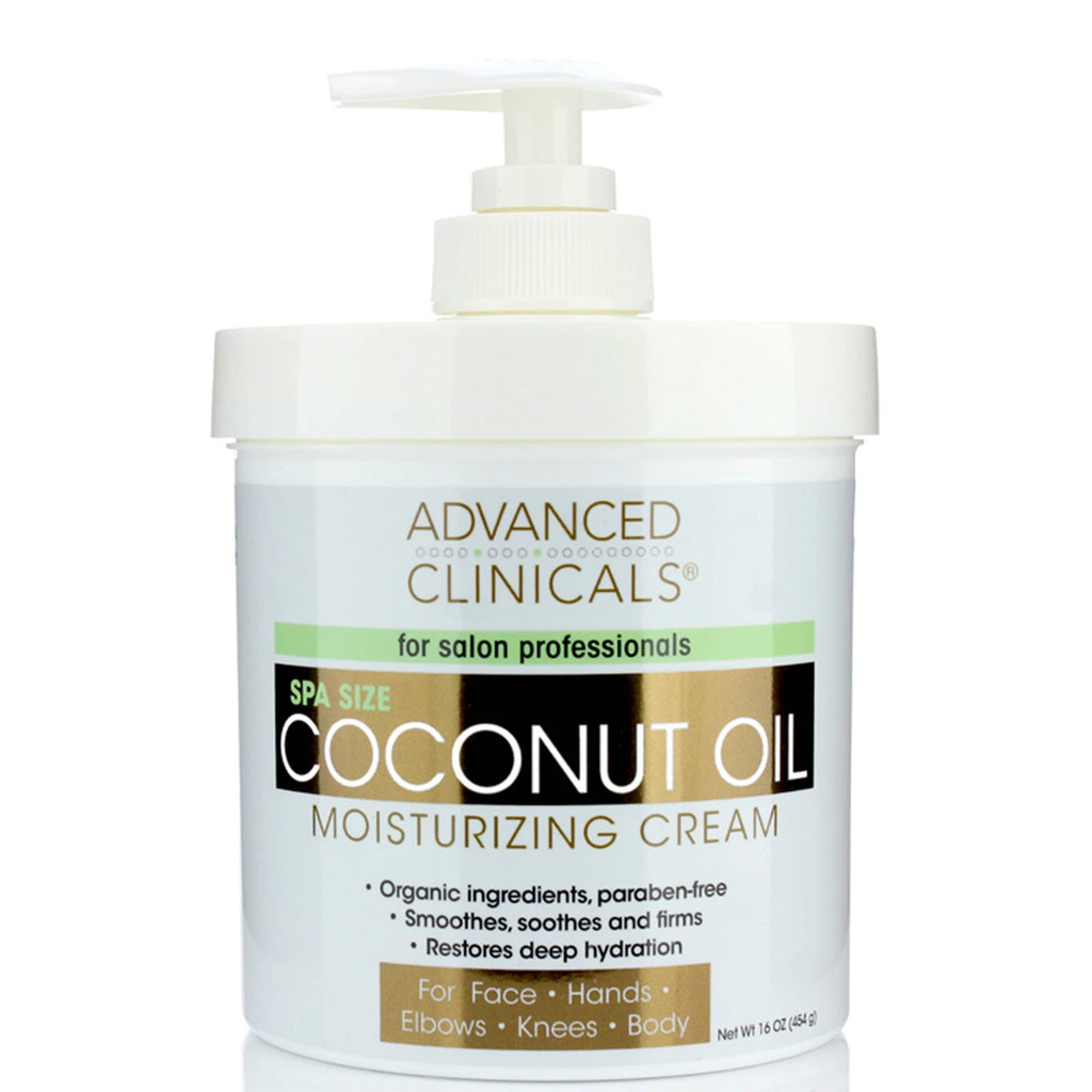 Coconut Oil Moisturizing Cream 16oz