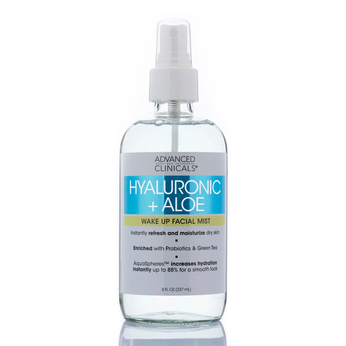 Hyaluronic + Aloe Wake Up Facial Mist 8oz