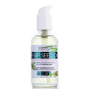 Hemp Seed Instant Hydration Body Oil 3.8oz