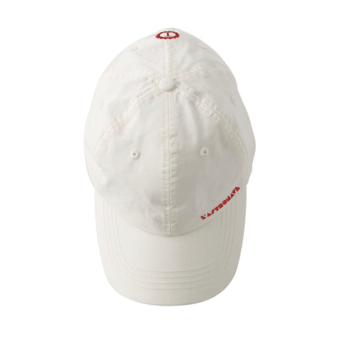 Baseball Cap White - Garage Italia Shop - cappellino da baseball - ricamato - Embroidered