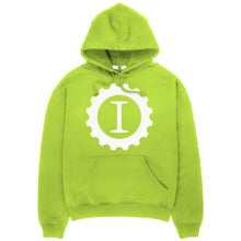 Logo Hooded Sweatshirt Lime