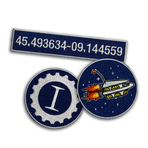 Astronave Patch Pack - Garage Italia Shop - toppe ferro da stiro - iron on