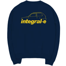 integral-e SWEATSHIRT NAVY
