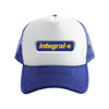 PANDA integral-e TRUCKER CAP BLUE