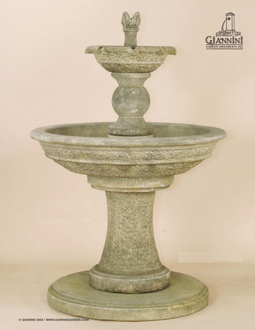 Giannini Garden Antiquarium Two Tier Fountain