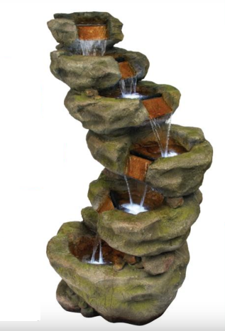 6 Tier Waterfall Fountain