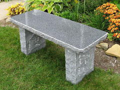 Charcoal Granite Bench