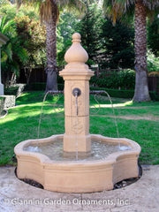 Giannini Garden Monaco Pond Fountain