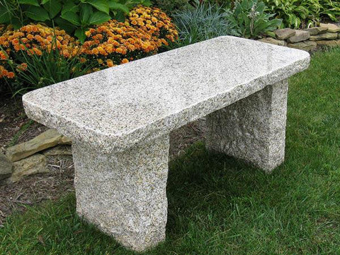 Gold Granite Bench