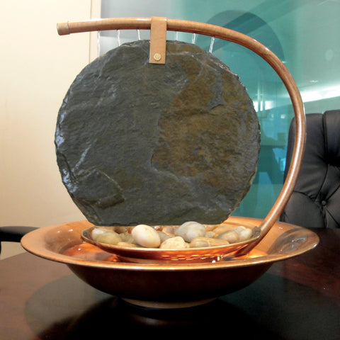 Bluworld Large Moonshadow Tabletop Fountain