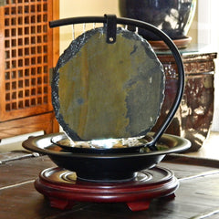 Bluworld Large Zen Moonshadow Tabletop Fountain