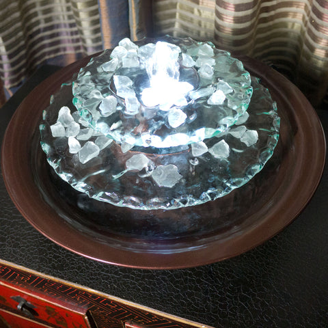 Bluworld Moonlight Tabletop Fountain