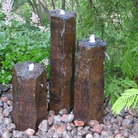 Stone Age Creations Basalt Trio Fountain Kit