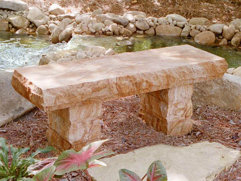 Copper Sandstone Bench