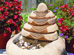 Tiered Boulder Fountain
