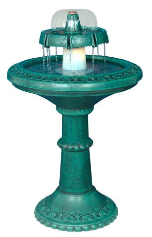 Two Tier Outdoor Fountain