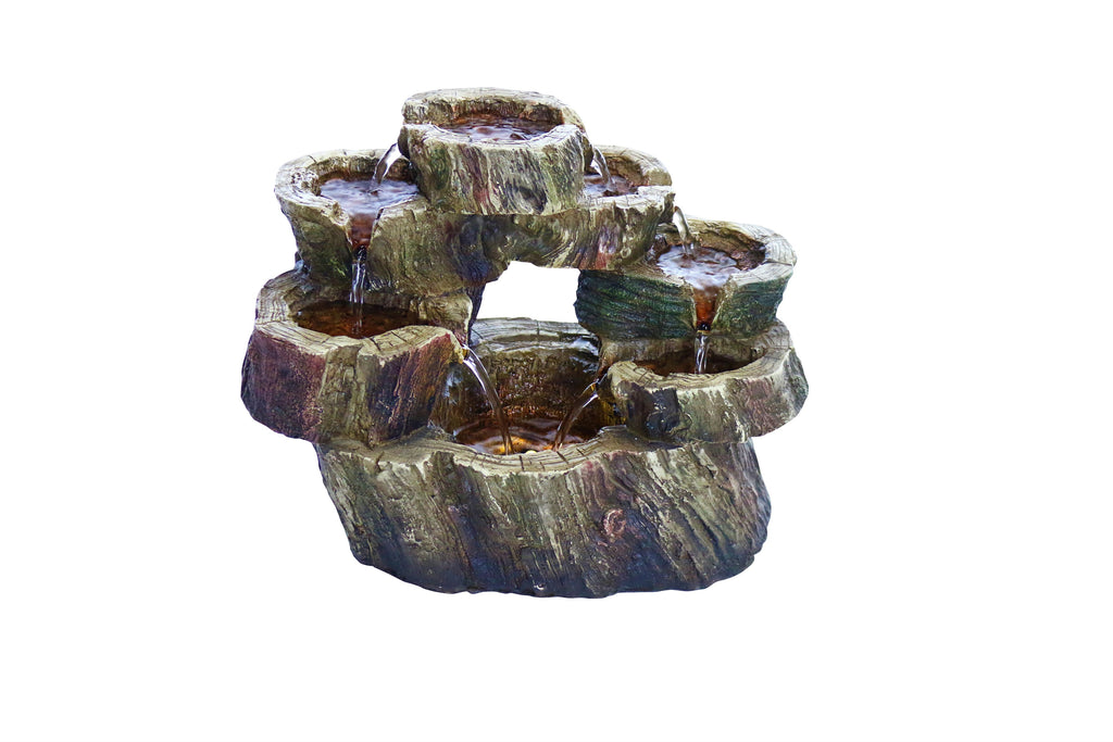 Circular Tiered Tabletop Fountain