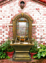 Alpine Outdoor Wall Fountain