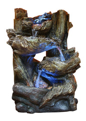 Alpine Corporation 5-Tier Rainforest Tabletop Fountain