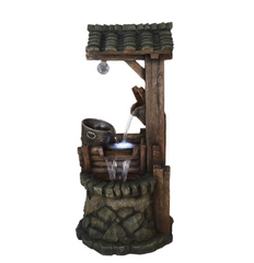Water Well Fountain with Tiering Bucket