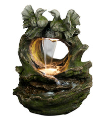 Alpine Corporation Bird Waterfall Fountain