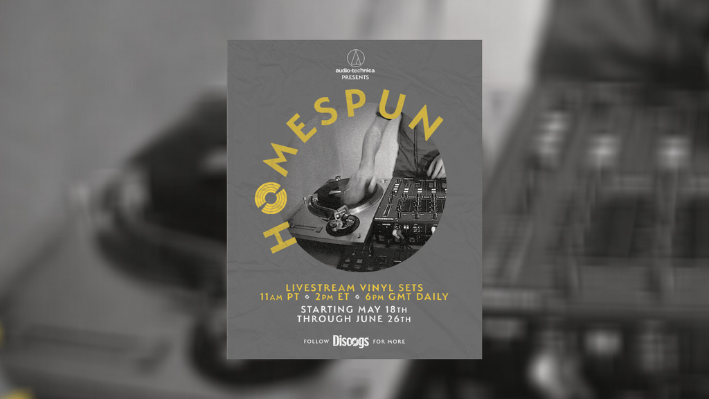 Sister Ray x Discogs x Audio-Technica: Homespun