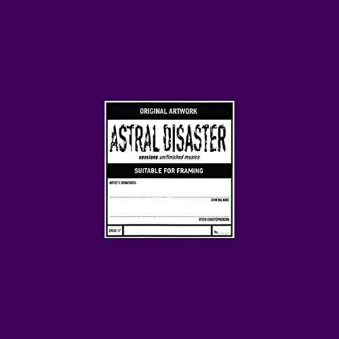 Coil Astral Disaster Sessions Un/Fi LP 0778578991715