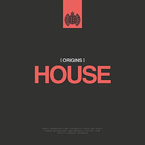 Various Origins Of House - Ministry Of Sound LP