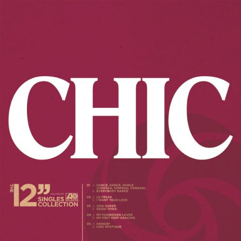 Chic The 12 Singles Collection [12 VINYL] 5LP 0081227964979