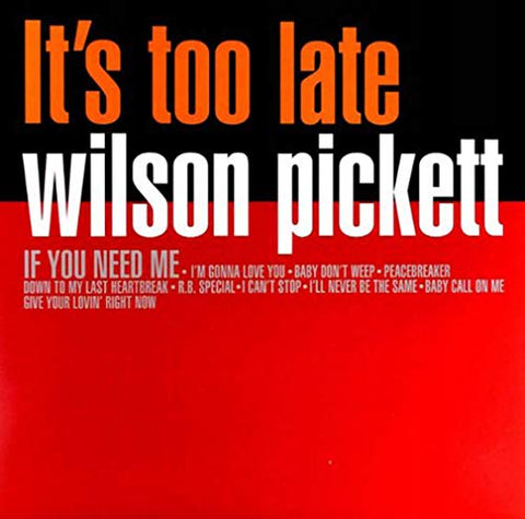 Wilson Pickett It's Too Late LP 8032979227043 Worldwide