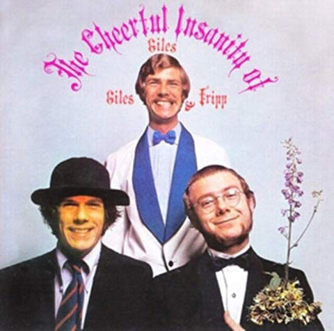 Giles Giles & Fripp The Cheerful Insanity Of LP